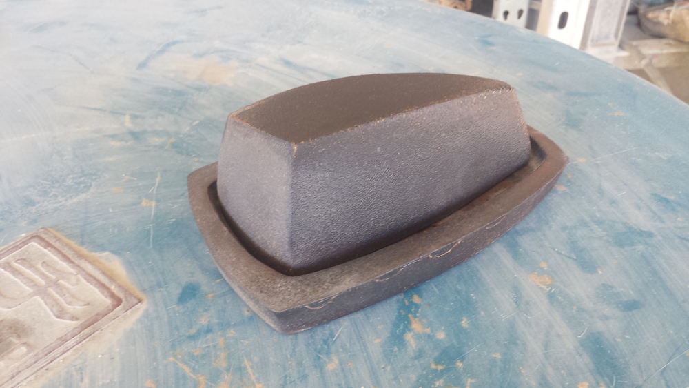 Butter dish by Todd Rex Hayes