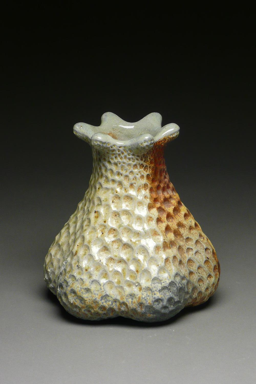 Six flared vase