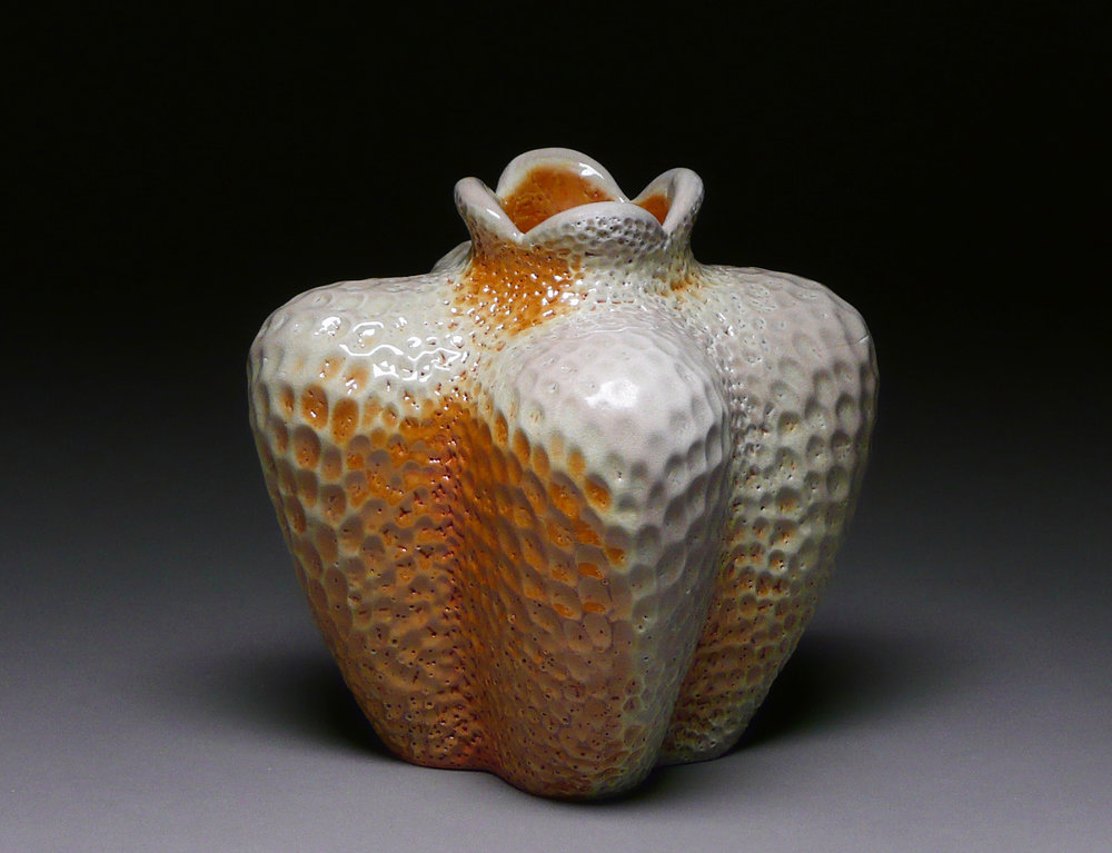 Orange Blossom Vase