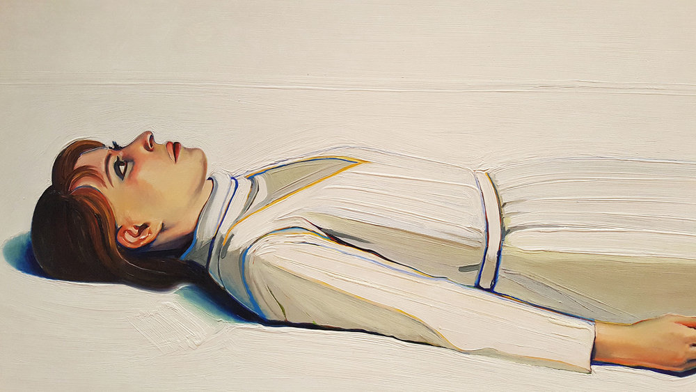 I just love Wayne Thiebaud. Deeply. The way he paints white using a rainbow of colors is surprising and perfect.