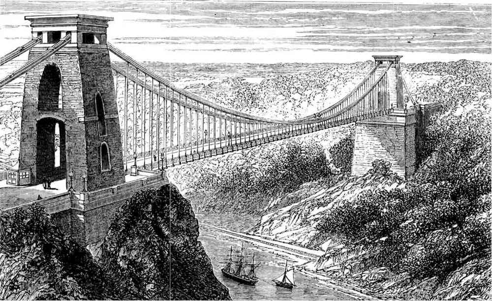CLIFTON SUSPENSION BRIDGE (OPENED 1864)