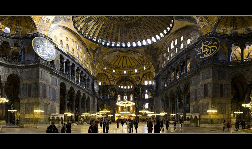 Hagia Sophia (537-1453) Istanbul, Turkey