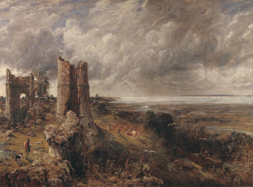 John Constable,Hadleigh Castle,1814