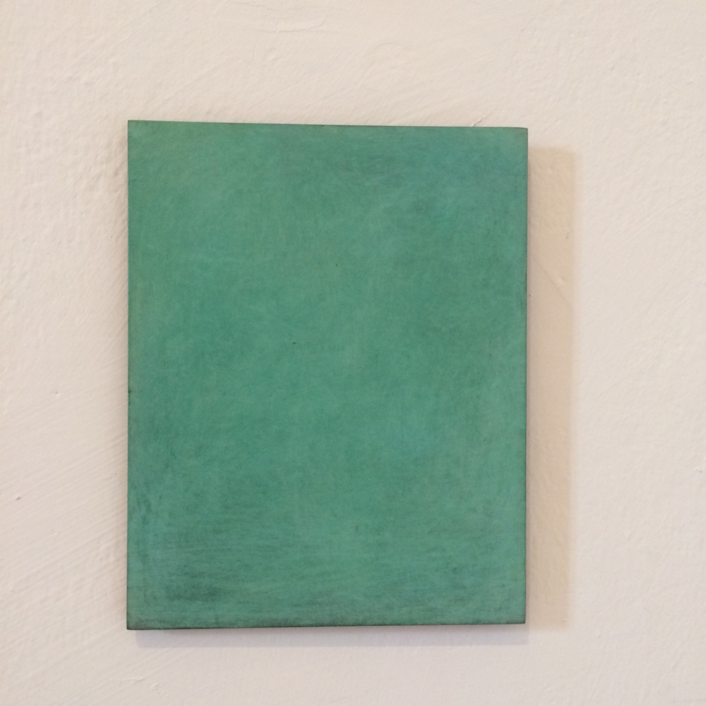 Sample 1 (25 Figure), Paris, 2015, verdigris burnished bronze, 81 x 65 cm