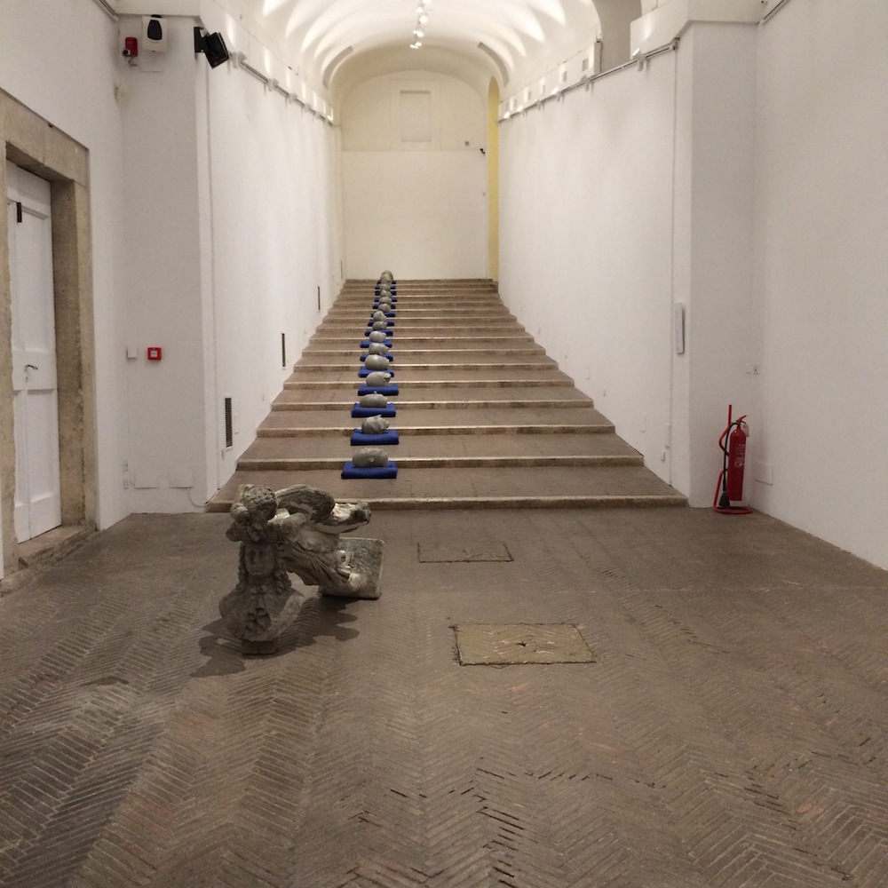 Tronches, Installation view, Villa Medici