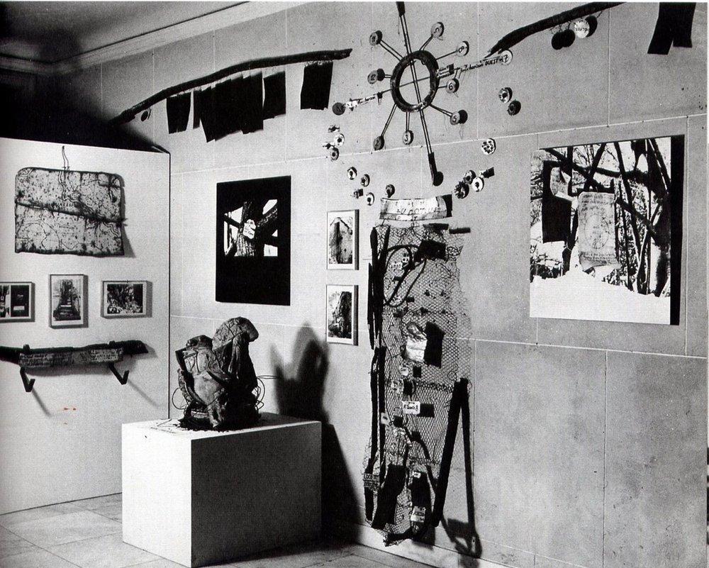 Harald Szeemann,Monte Verità— installation view at Kunsthaus Zurich, 1978