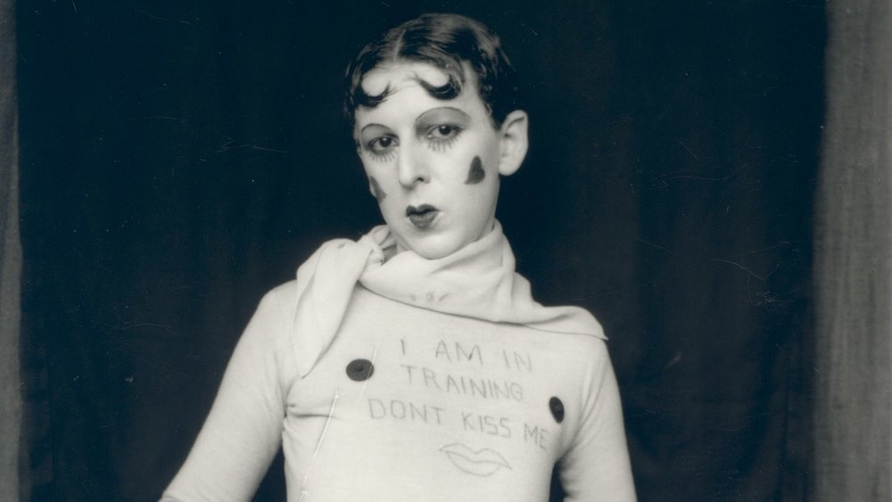 Claude Cahun, Self Portrait, 1927
