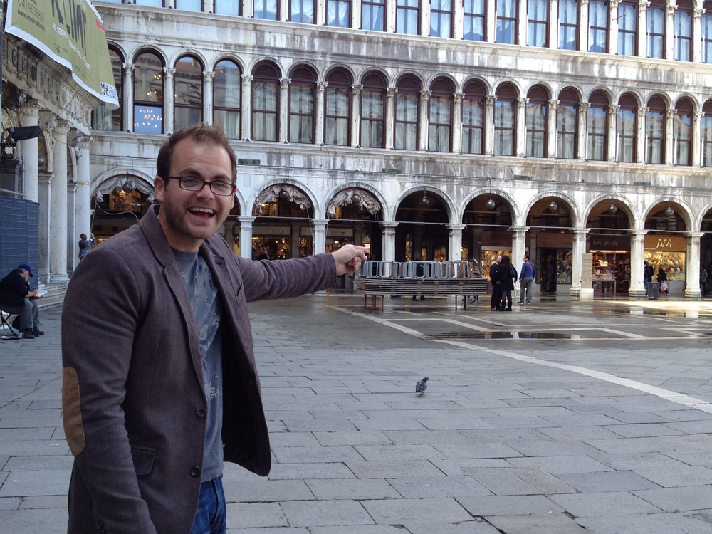 This is what happens when an architect visits Piazza San Marco in Venice for the first time.