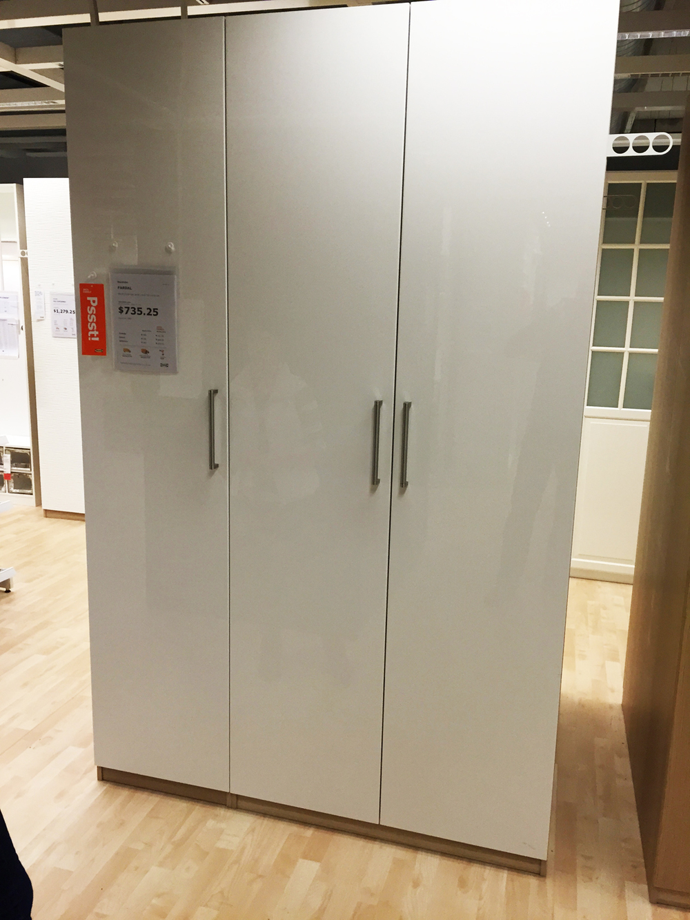 Ikea Wardrobe 1