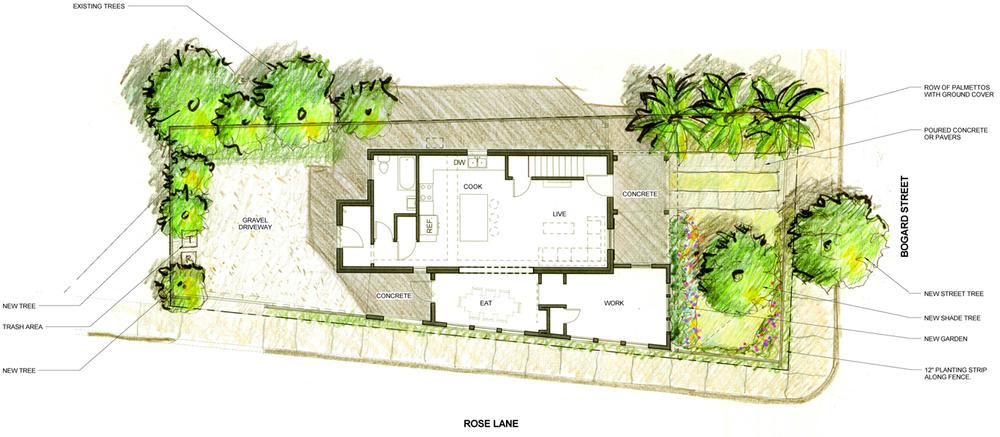 Rendered Building Plan
