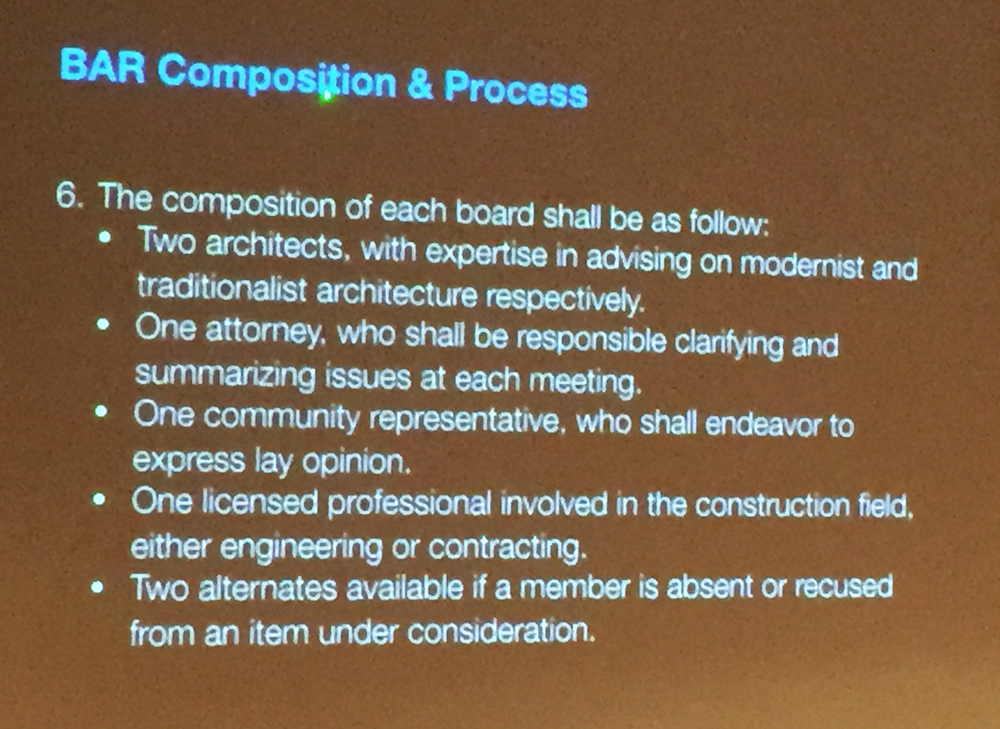 BAR Composition and Process 6