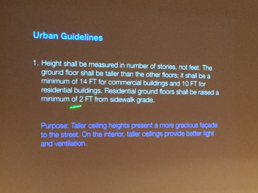 Urban Guidelines