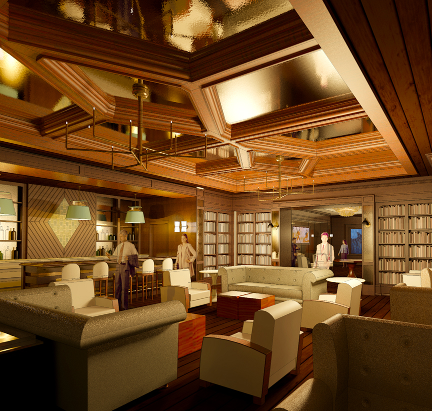 Lounge Rendering 1.