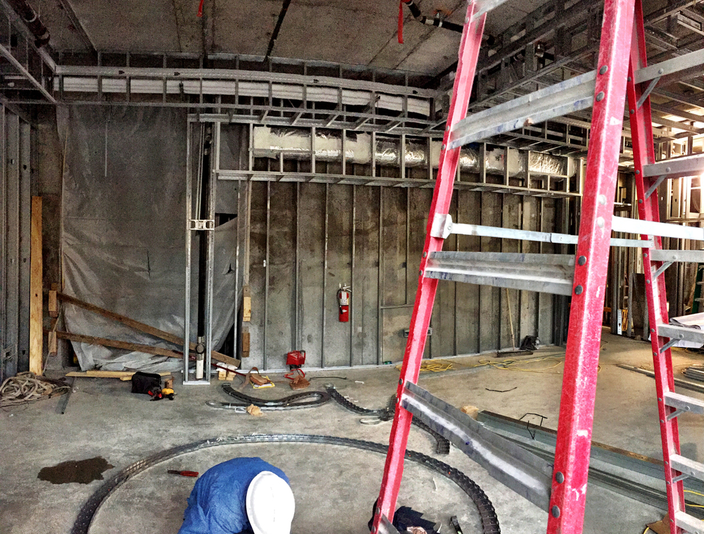 Lobby Construction Photo 1