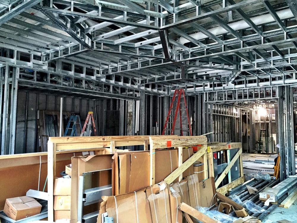 Lobby Construction Photo 1.