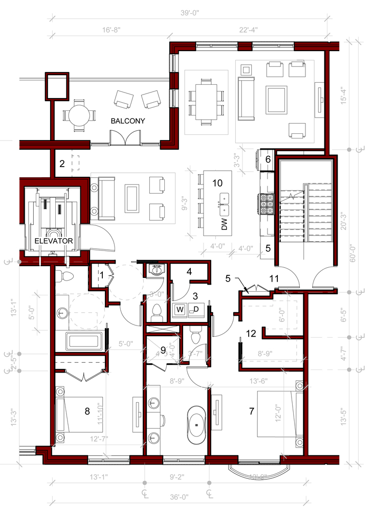 Photo home plans with elevators images beach home plans for Mansion house plans with elevators