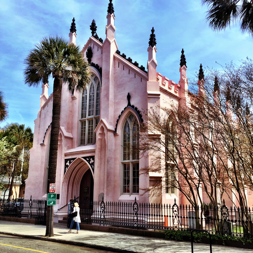 The French Huguenot Church.  136 Church Street.  Architect Edward Brickell White
