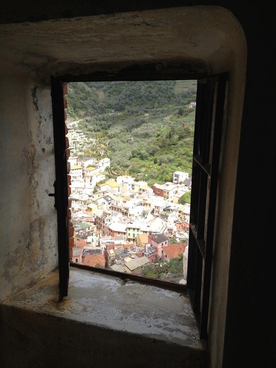 View atop Monterosso al Mare
