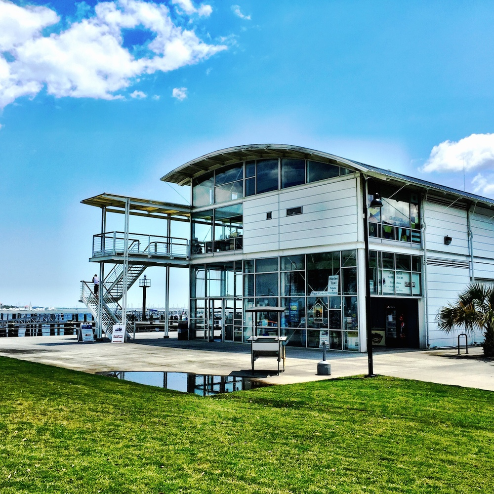 Charleston Maritime Center.  Architects: Sasaki Associates