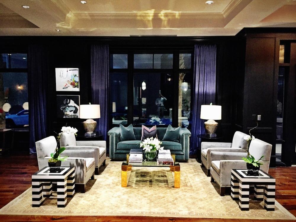 The Spectator Lobby 'Living Room.'