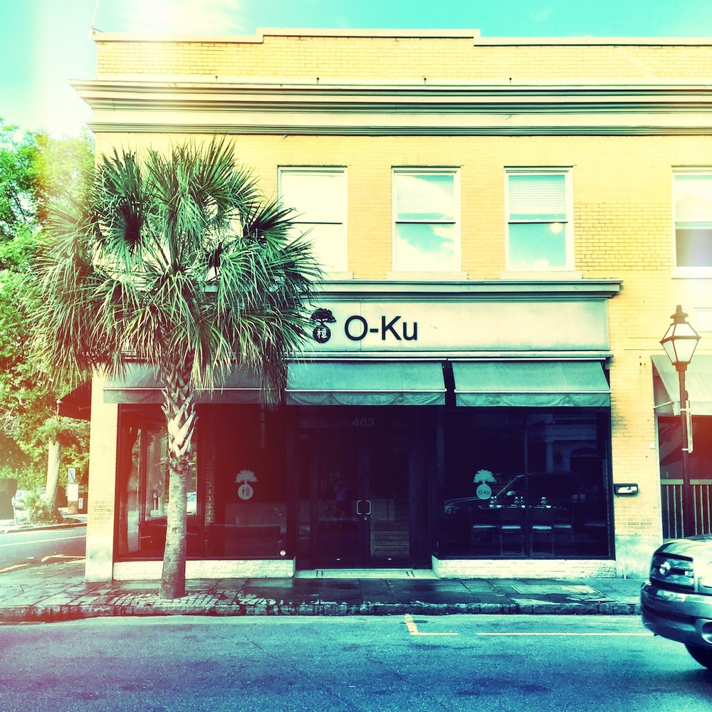 O-Ku.   Some of the best sushi in Charleston.