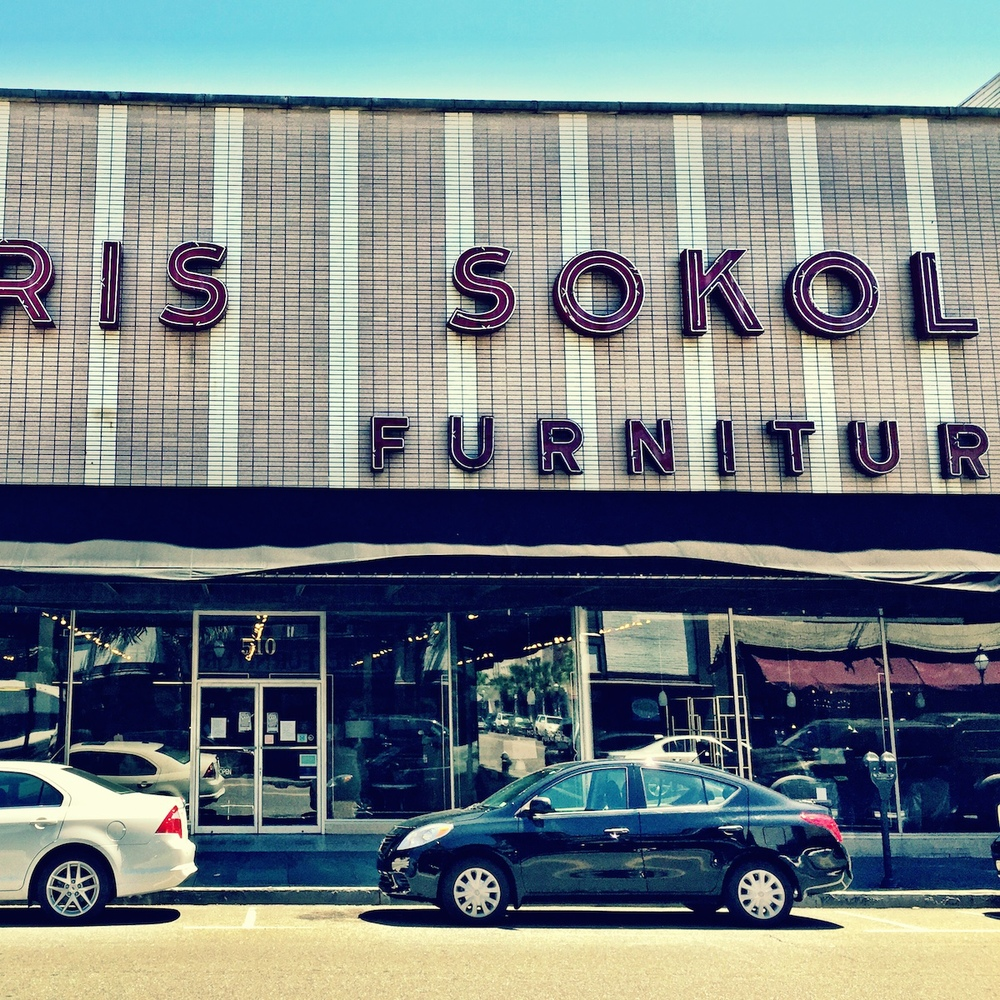 Well what do you expect then?  The end of an era.  Morris Sokol Furniture will be closing it's doors soon.  After 94 years.