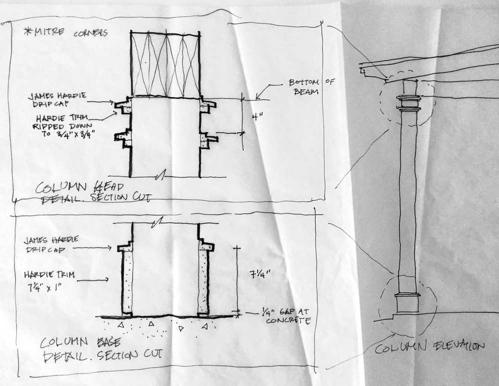 building details are cool sketches and process photos of 5 cool