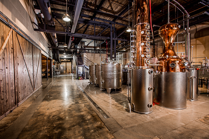 Charleston Distilling Company.  Photo Credit:  Benton/Henry Photography http://www.bentonhenry.com/