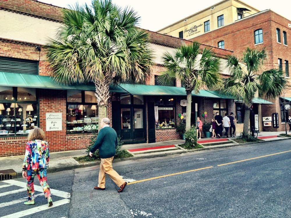Market Street Sidewalk