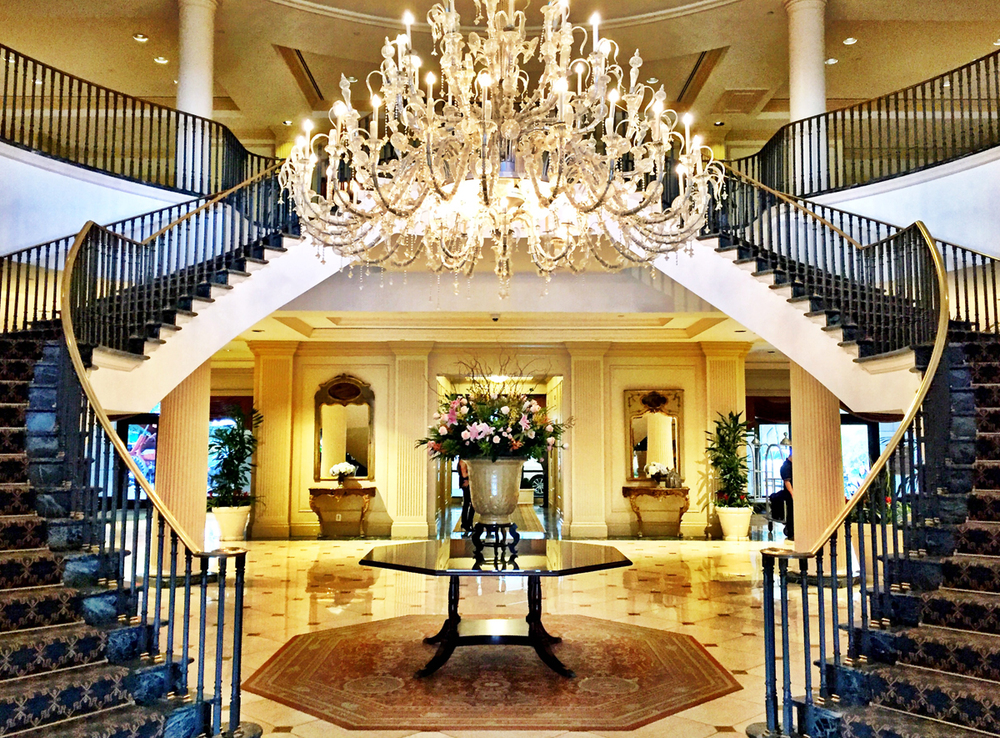 The Grand Stair at the Belmond Charleston Place