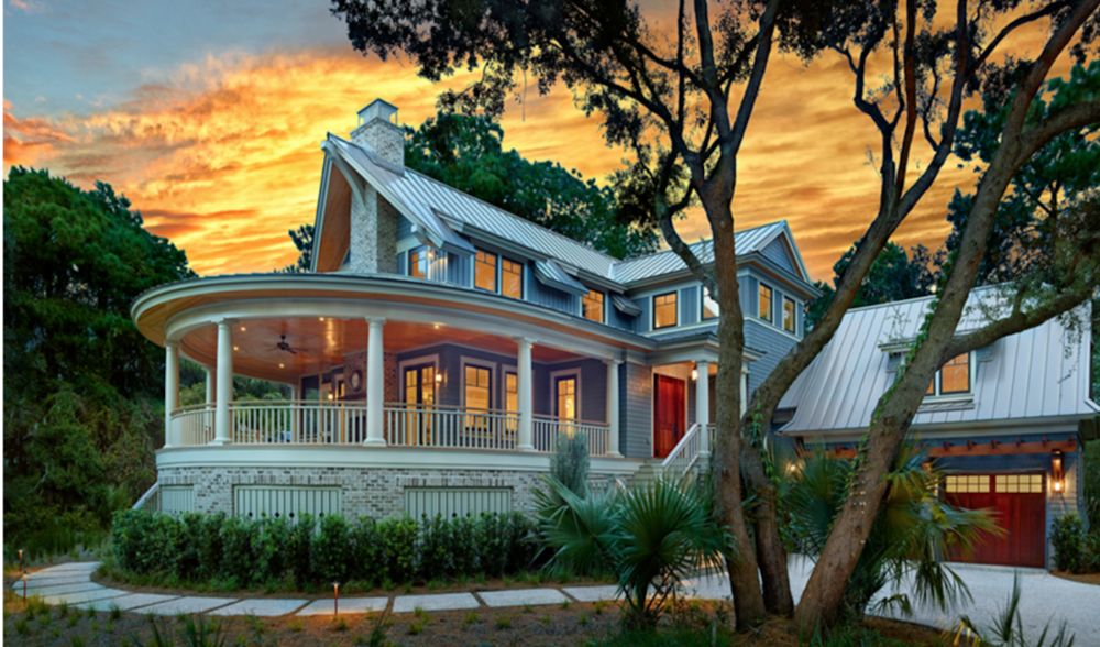 River Course Home, Kiawah Island, SC by Cumulus Architecture + Design LLC