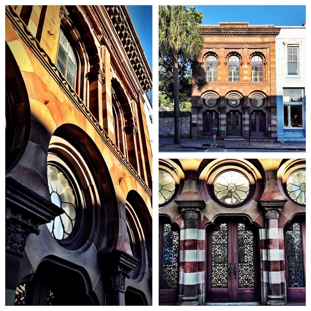 Good morning from Charleston's Farmers and Exchange Bank Building.  Best facade in Charleston?