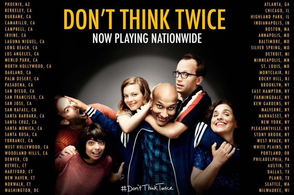 Movie Poster for Don't Think Twice