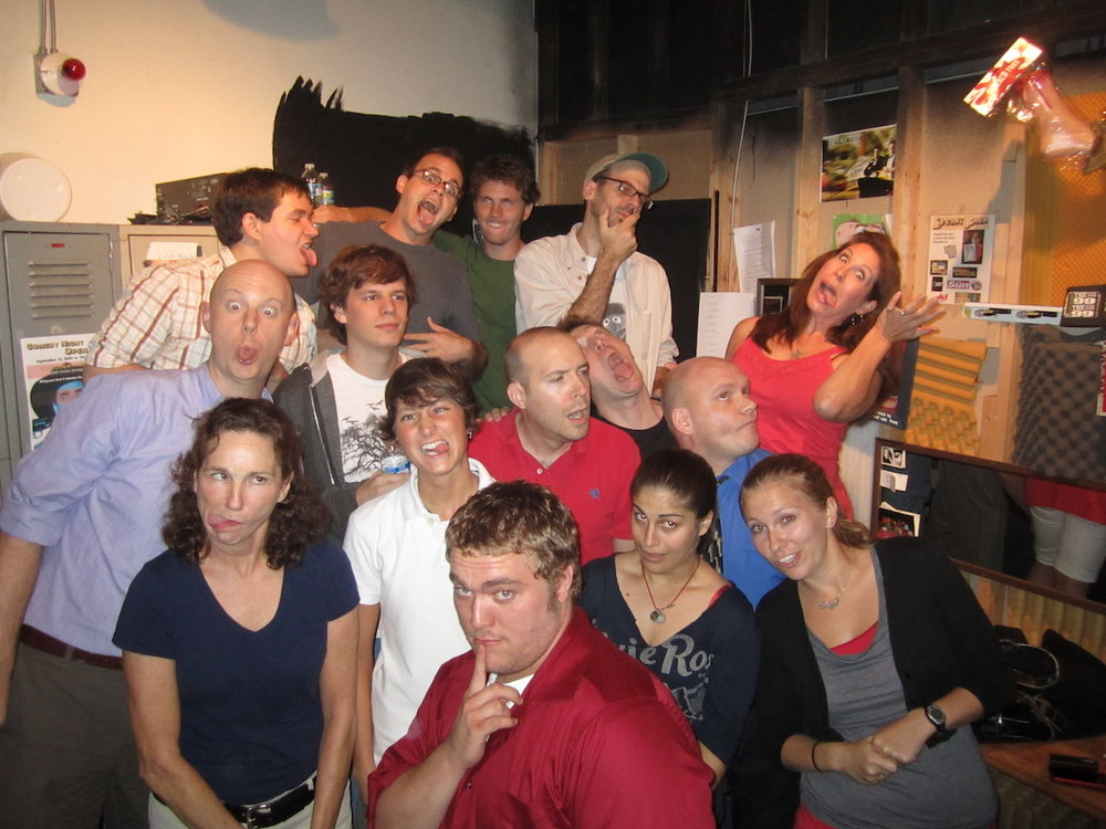 Level 1 improv class in Septeber 2011.  We were so young.  Fun fact...actor Jesse Eisenberg was in this improv class.  True story.