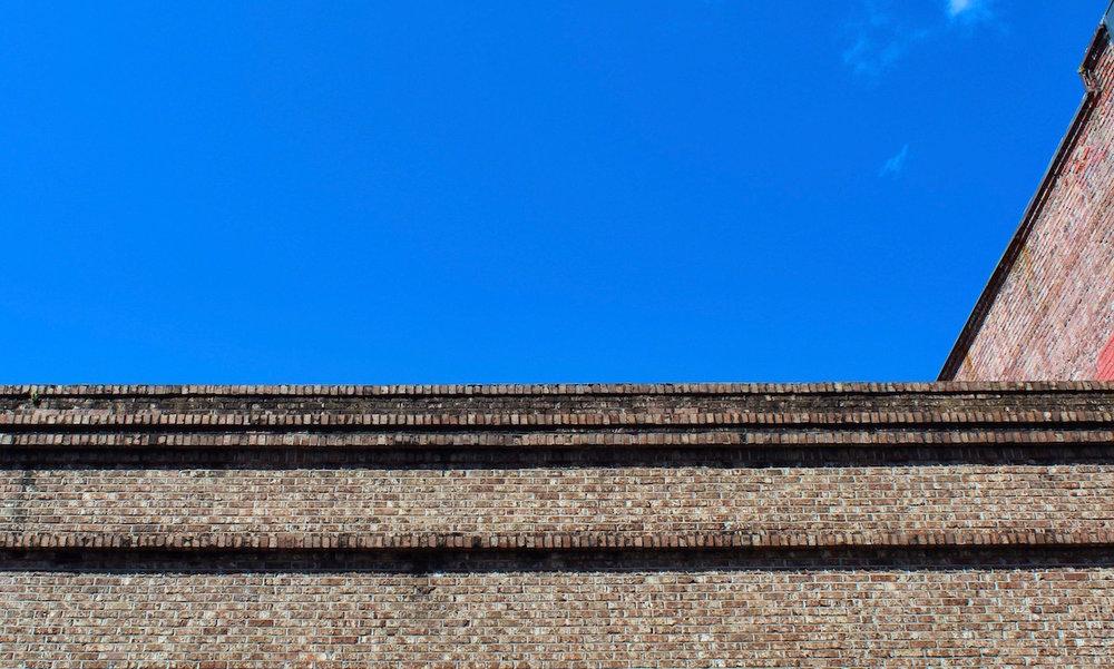 355 King Street - Even plain modern buildings often have a cornice.