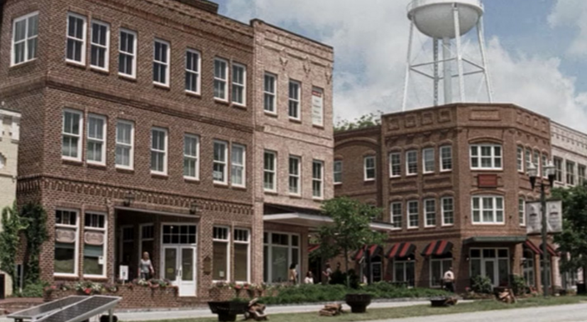 Woodbury from The Walking Dead.  Photo Credit:  LocalAdventurer.com