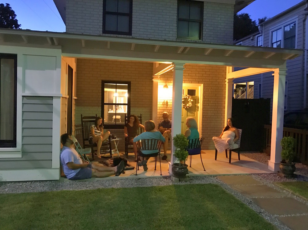 The Ramos Clan already embraces Porch Life.  We are ready!