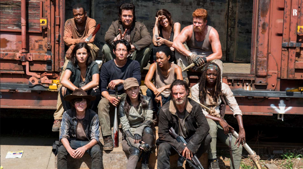 Cast of The Walking Dead.  Photo Credit:  AMC.com