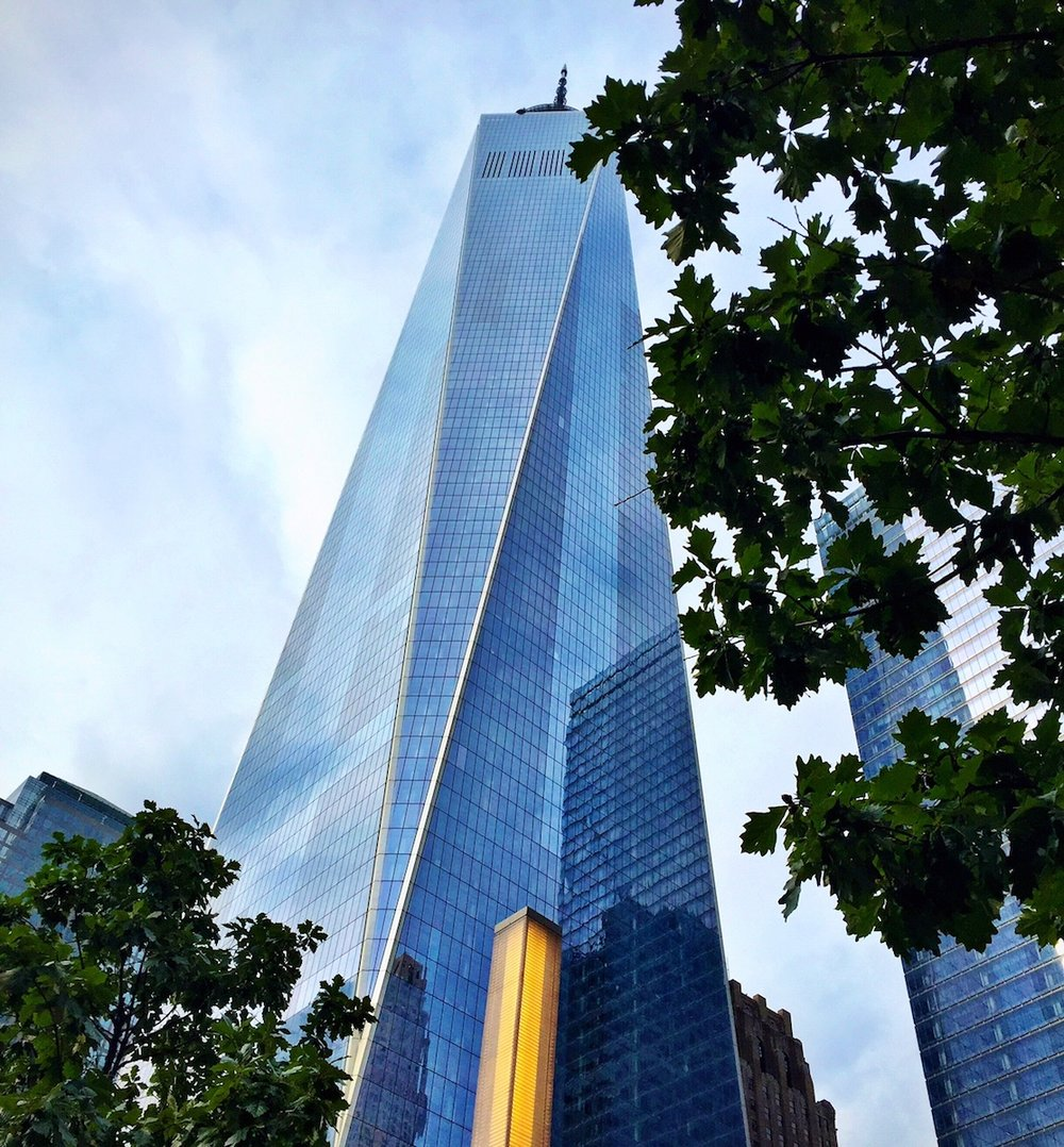 One World Trade Center.  A collaboration between David Childs of SOM and Daniel Libeskind