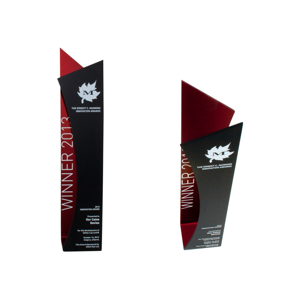 disclose modern trophy award eco sustainable materials