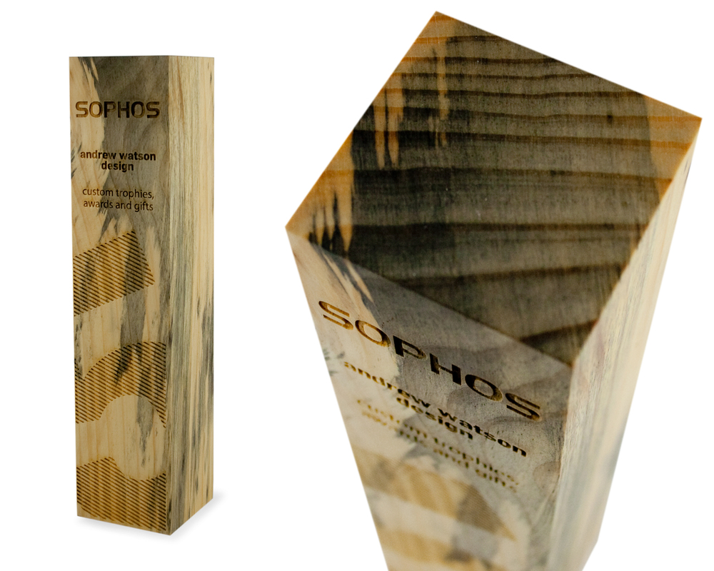 the sustainable trophy green award eco
