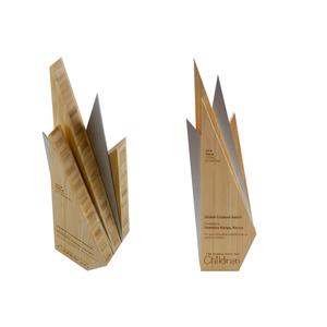 global fund for children eco wood custom award