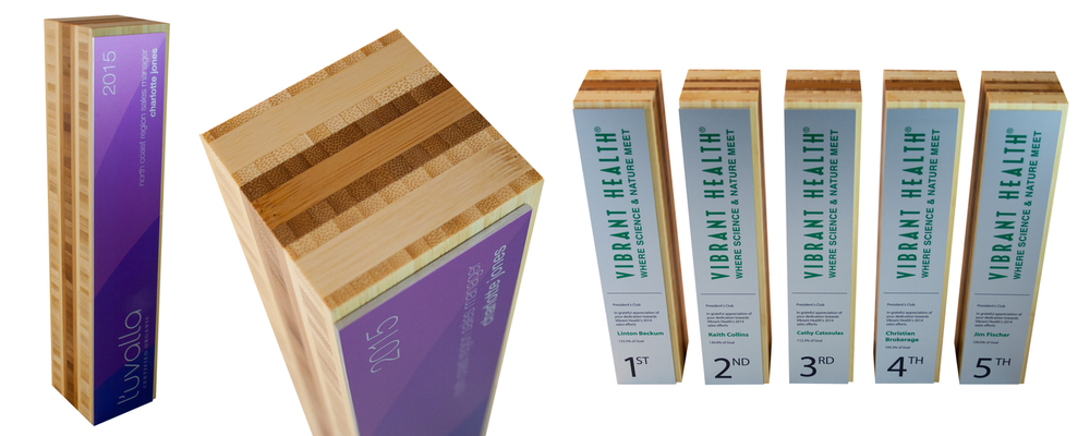 two-tone bamboo eco awards