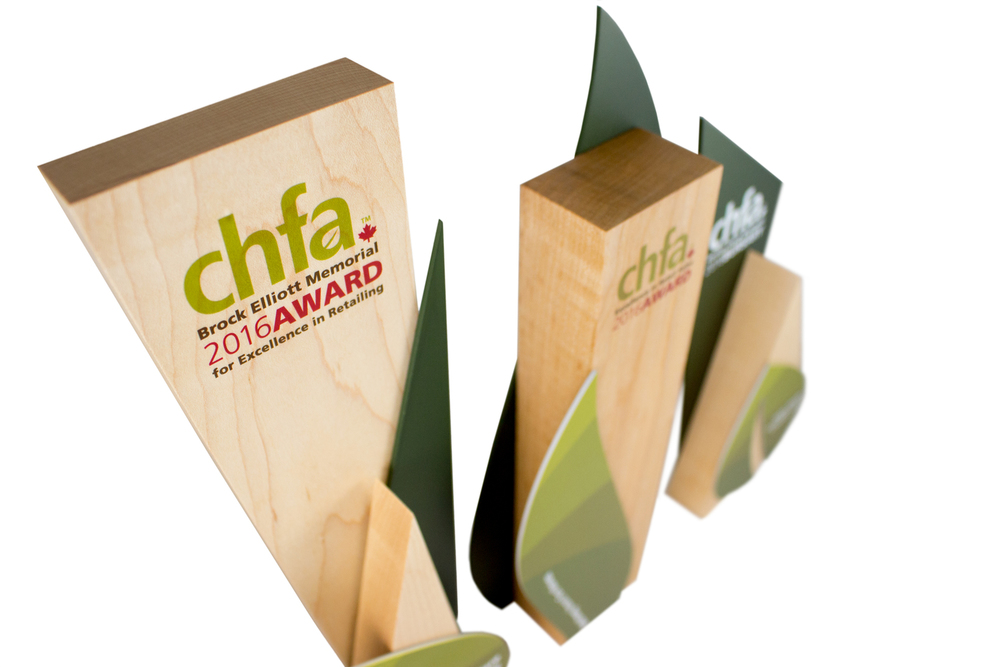 chfa - unique eco friendly award design