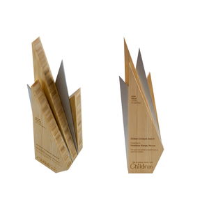 eco-friendly global fund for children custom awards
