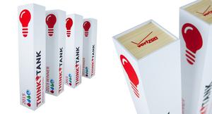 Verizon custom award design eco-friendly