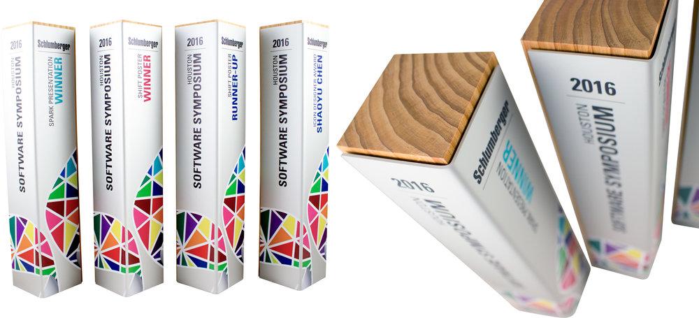 schlumberger custom eco friendly awards