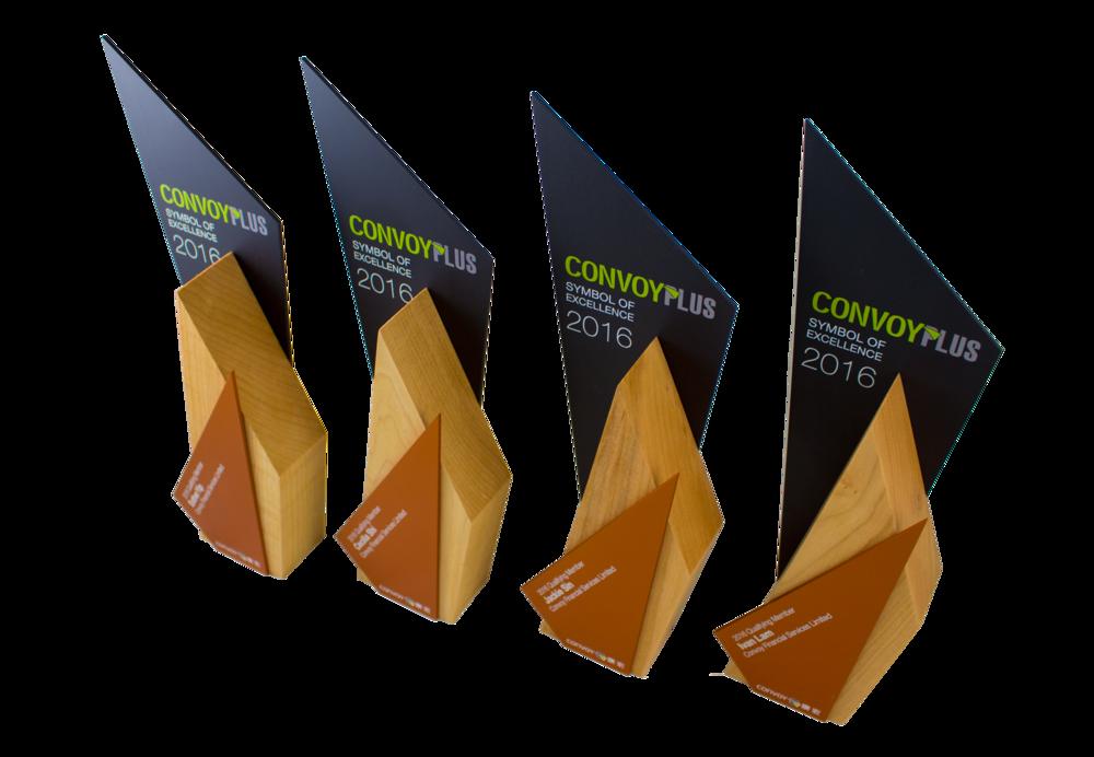 convoy plus excellence awards custom eco friendly design 2