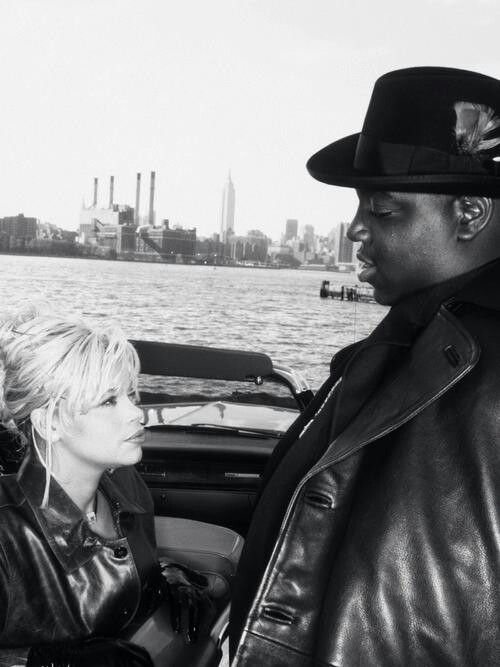 Faith & The Notorious B.I.G., 1995 Vibe Magazine shoot