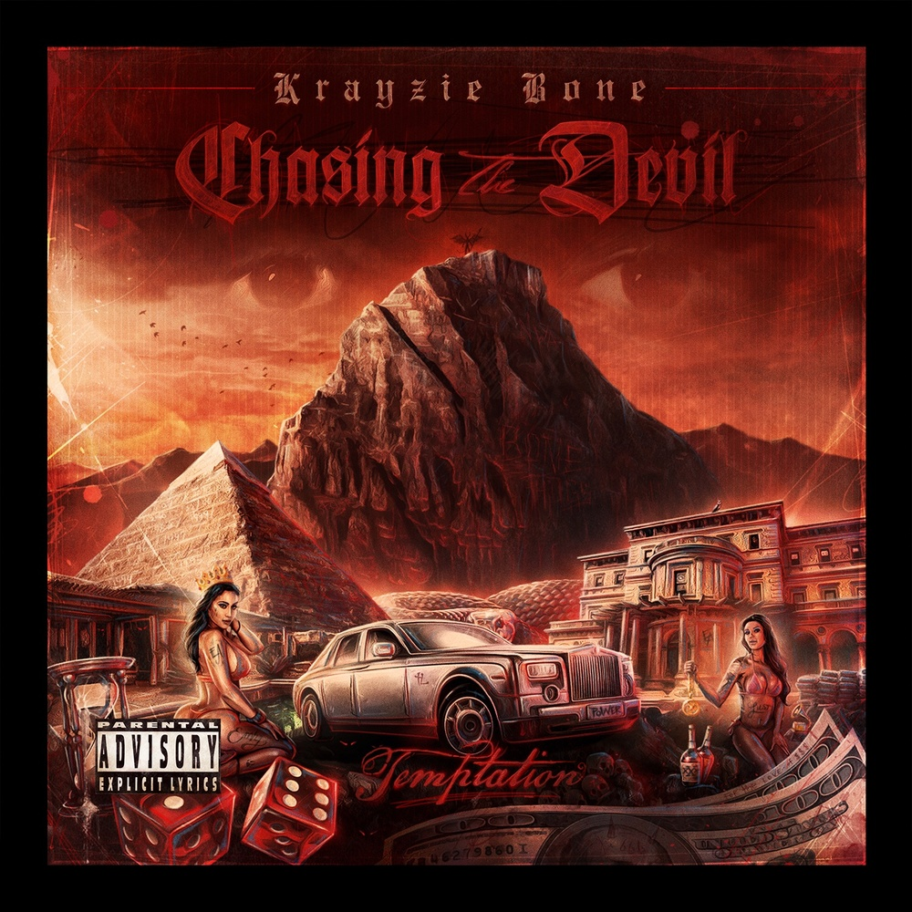 Chasing the Devil, Album Cover, courtesy of RBC Records